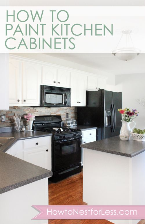 How To Paint Kitchen Cabinets Do It Yourself Cabinets