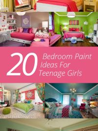 20 Bedroom Paint Ideas For Teenage Girls | Girls, Home and ...