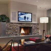 Tv Above Fireplace Design, Pictures, Remodel, Decor and ...