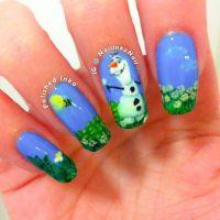 frozen+nail+designs | Disney Frozen  Olaf | nails ...
