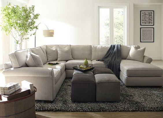 Functionalists Can Configure #Havertys Piedmont Sectional For The