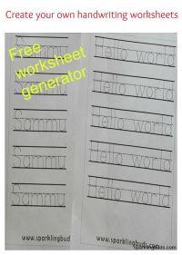 Number Names Worksheets  Create A Worksheet Free - Free ...