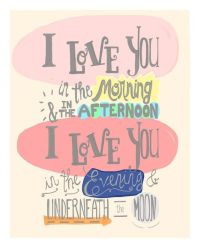 Nursery quotes, I love you and Love you on Pinterest