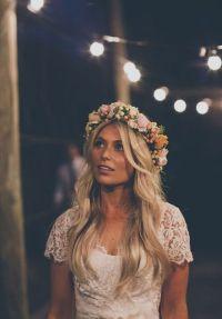 Bridal hair wreath | thebeautyspotqld.com.au | wedding ...