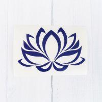 Lotus Flower Decal | Lotus Flower Sticker| Yoga Decal ...