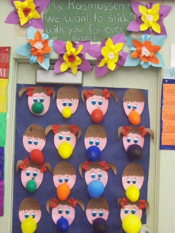 classroom door deco for March