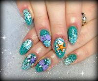 Ariel under the sea by Sarahp898 - Nail Art Gallery ...