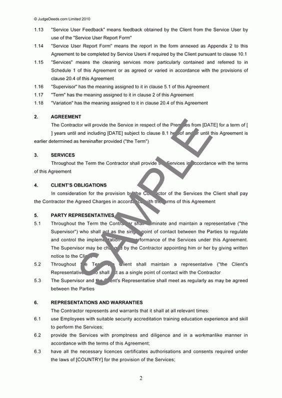 Doc#400518 Contract Agreement Sample u2013 Independent Contractor - sample independent contractor agreement