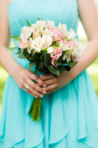 Pool Blue Bridesmaid Dresses - Wedding Dresses In Redlands