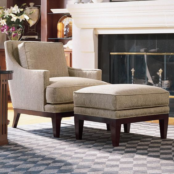 Stickley Tribeca Lounge Chair For The Living Room | Stickley Fine