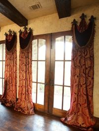 window treatments | Curtains | Pinterest | Old world ...