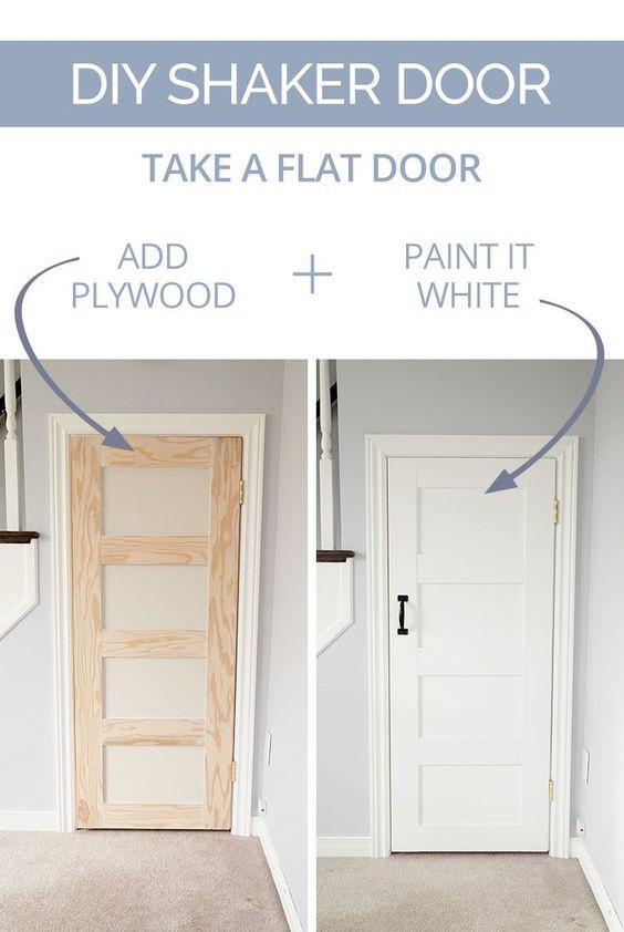 Diy Shaker Door | Pinterest | Plywood, Kitchen Pantry Doors And