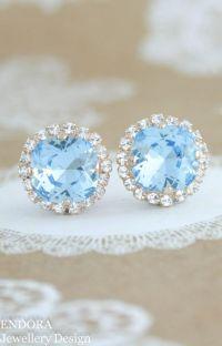 Birthstone jewelry, Aquamarines and Swarovski on Pinterest