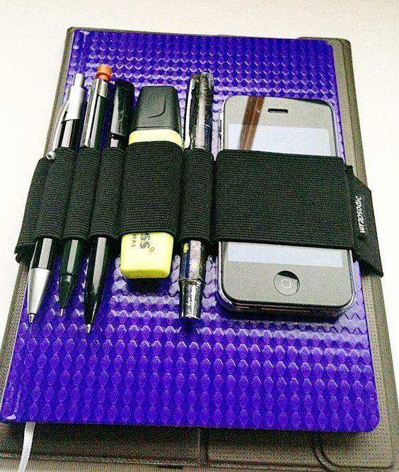 Journal Pen Holder, Planner Band, Phone Case, Pen Loop for