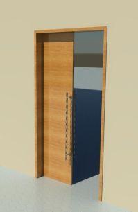 Sliding Door (Pocket door) - Wood   Revit Models ...