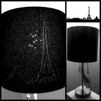DIY Paris Skyline Eiffel Tower Lampshade | Crafts ...