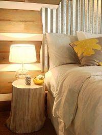 Tree stumps, Tree stump furniture and Headboards on Pinterest