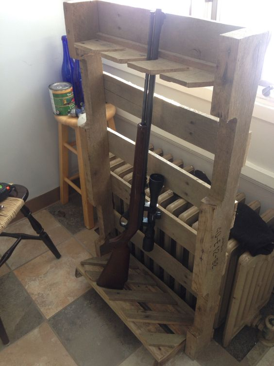 Gun Racks Guns And Pallets On Pinterest