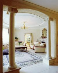 35 Modern Interior Design Ideas Incorporating Columns into ...