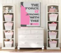 New Baby/Newborn Star Wars Kids Art- Girl Room Decor- 8x10 ...