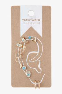 #earrings ear piercing set #gift #TALLYWEiJL   Cute rings ...