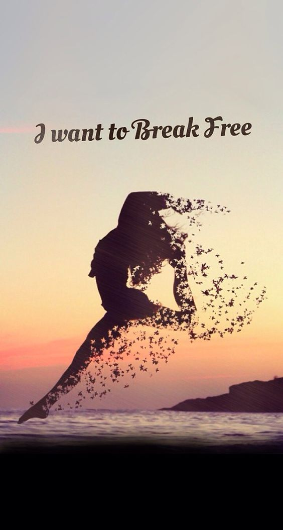 Forest Motivation Quote Wallpaper Phone I Want To Break Free Inspirational Amp Motivational Quote