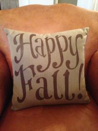Fall pillows, Happy fall and Pillows on Pinterest