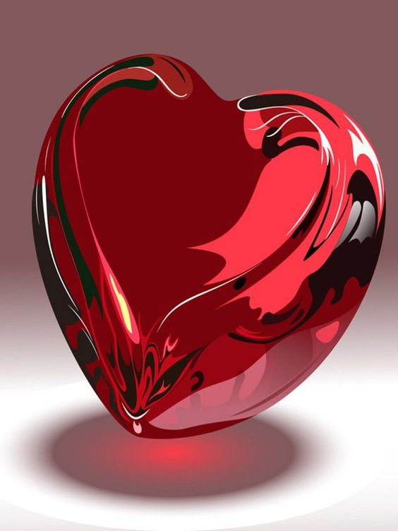 Shani Name 3d Wallpaper Valentine S Day Red Glass Heart Hearts