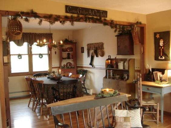 Primitive Home Decorating Ideas Welcome To Our Colonial