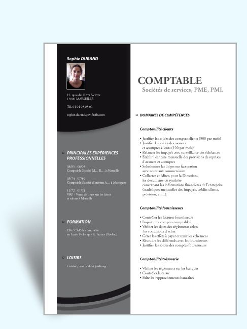 templates indesign cv gratuit
