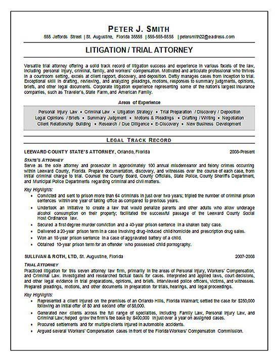 Sample Resume For Ojt For Finance Department Resume Pdf Download - county attorney sample resume