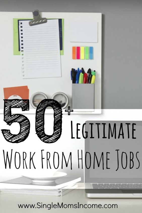 how i learned to find legitimate work from home jobs