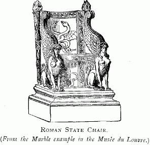 Roman, Chairs and US states on Pinterest