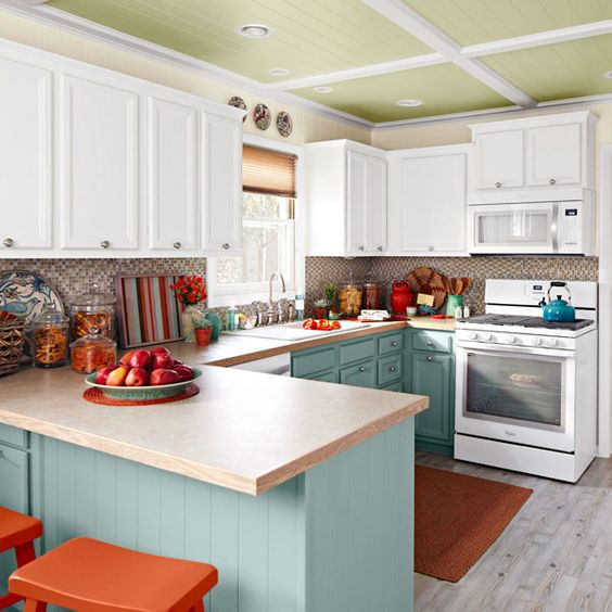 Lowes Wheat Kitchen Cabinets Creative, Complimentary Colors And Cabinets On Pinterest