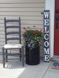 Vertical Welcome Sign, Entryway Sign, Front Door Sign ...
