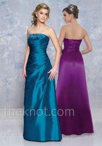 Teal and Purple Bridesmaid Dresses | Bridesmaid & Flower ...
