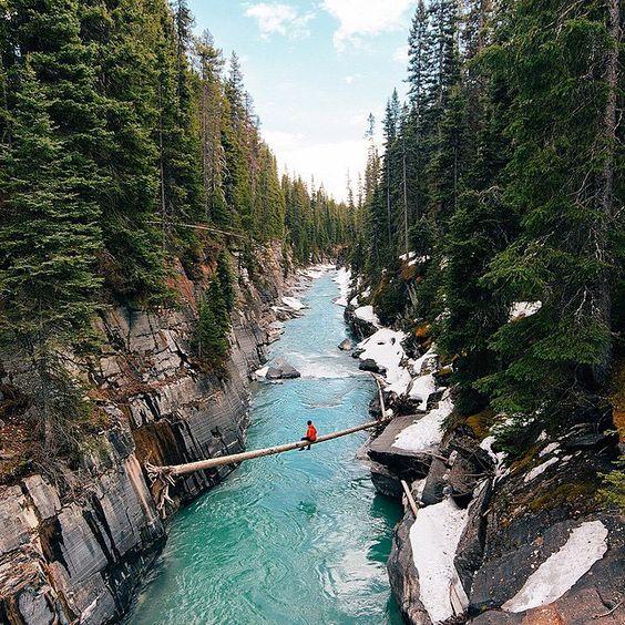 Bing Hd Wallpaper Fall Numa Falls Kootenay National Park British Columbia Canada