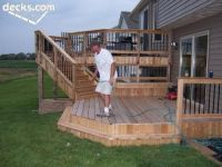 Multi+Level+Deck+Ideas | Multi level deck | Backyard Ideas ...