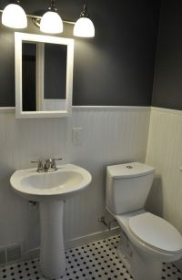 1950's Pink bathroom to awesome modern bathroom makeover ...