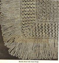 Victorian crochet shawls 13 | antique crochet | Pinterest ...