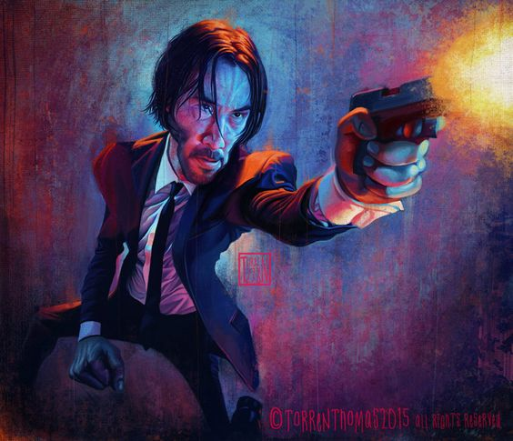 Fight Club Movie Quotes Wallpaper John Wick By Bigboithomas84 On Deviantart Characters