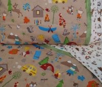 Forest animals nursery Toddler bedding camping crib sheet ...