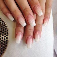 French fade nails | Nails | Pinterest | Franzsisch ...