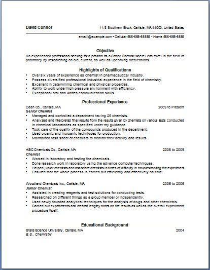 resume bullet point ideas