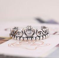Compatible Pandora Princess Crown Ring 925 Silver ...