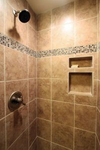 Ceramic Tile Shower - After by John M. Ransone, Builder ...