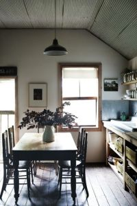 Kitchen tables, Ceilings and Kitchens on Pinterest