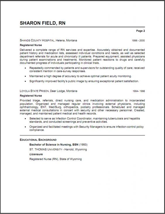 Sample Resume Free Resume Examples Resume On Pinterest