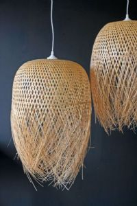 Hand Woven Bamboo Basket Lampshade | DIY | Pinterest | Ps ...