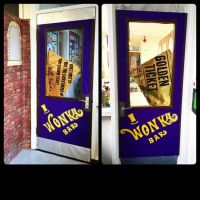 Willy Wonka chocolate classroom door from Charlie and the ...